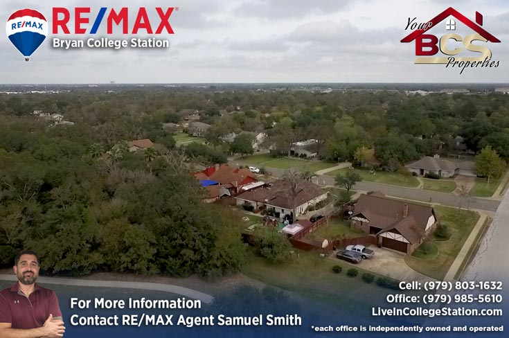 southwood valley college station tx view of homes in subdivision