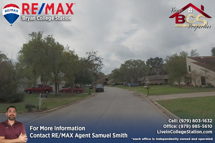 southwood valley college station tx street view of neighborhood