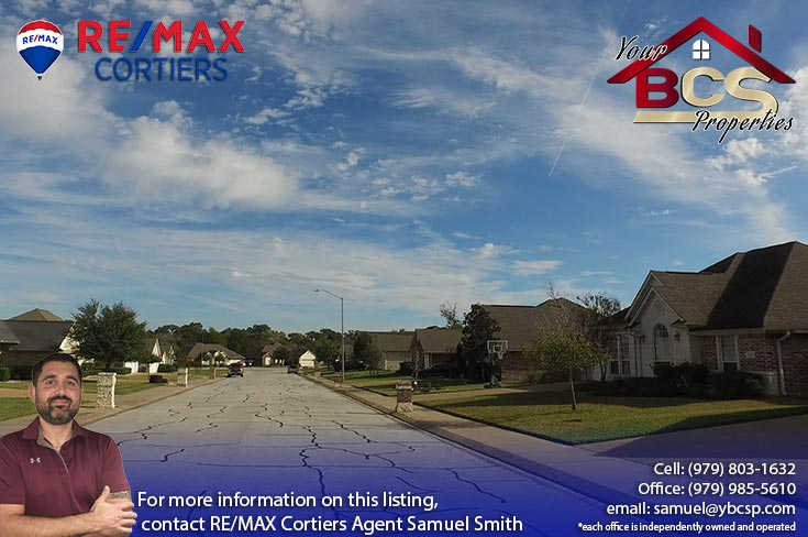 spring meadows subdivision college station texas street view of homes