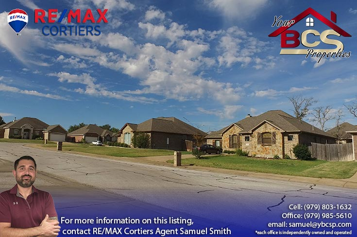 spring meadows subdivision college station texas street view