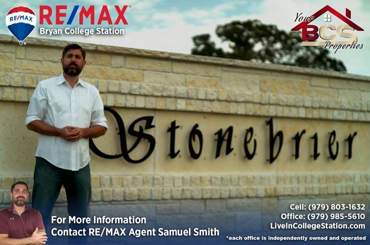 stonebrier subdivision bryan texas