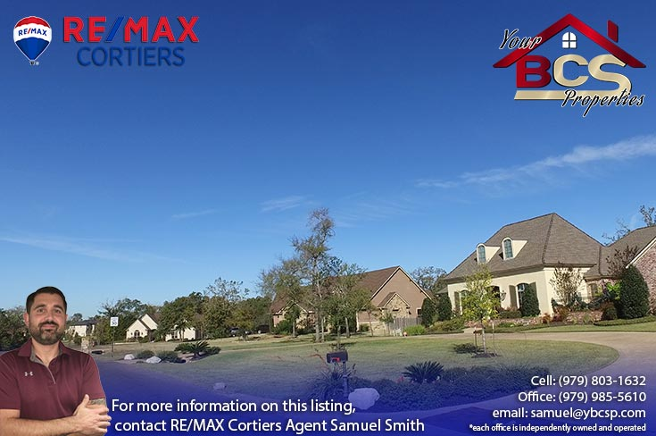 stonebrier subdivision bryan texas street view of homes