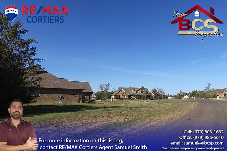 stonebrier subdivision bryan texas home with large lot