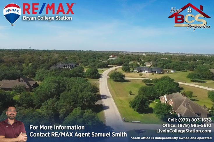 sweetwater neighborhood college station tx aerial view of subdivision