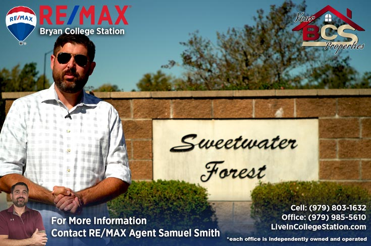 sweetwater forest college station tx land mark entrance
