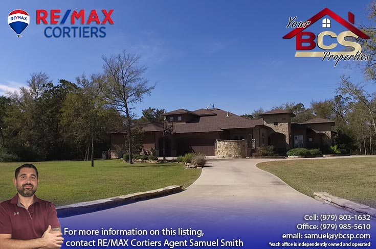sweetwater forest college station tx street view of elegant home