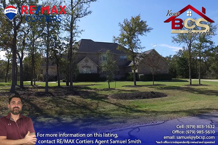 sweetwater forest college station tx home with large lot