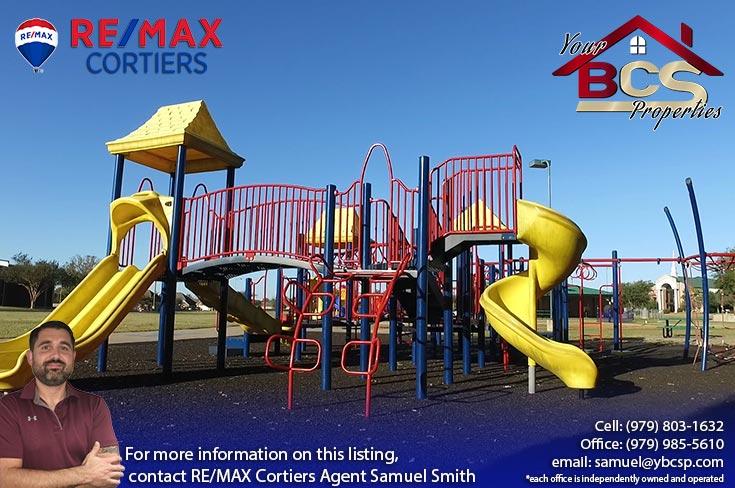 tiffany park subdivision bryan texas childrens play area