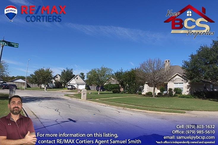 tiffany park subdivision bryan texas home on corner lot