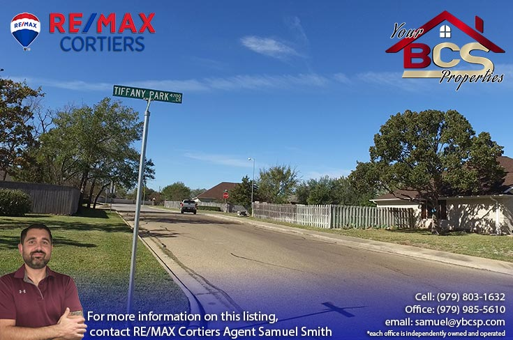 tiffany park subdivision bryan texas street view