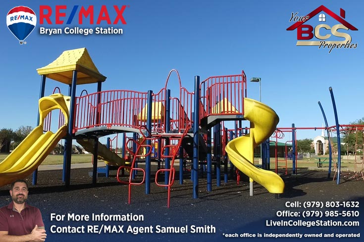 tiffany park subdivision bryan texas childrens play area