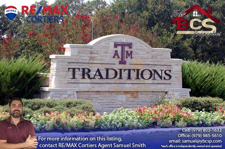 traditions bryan texas entrance landmark