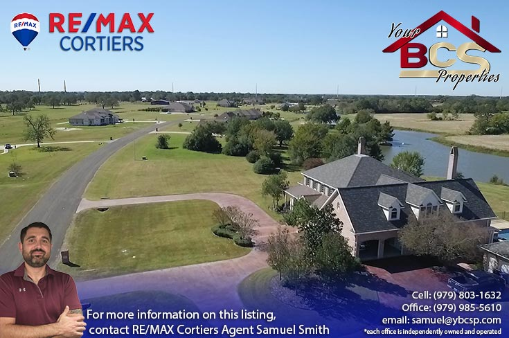 tuscany trace college station aerial view of elegant home