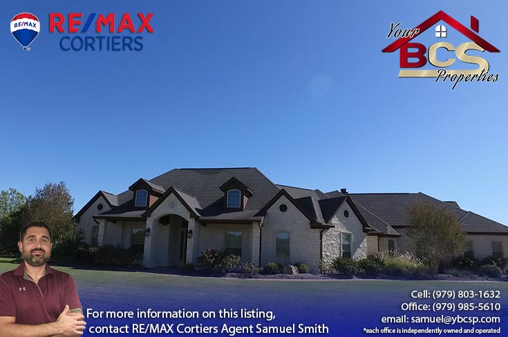 tuscany trace college station large family home