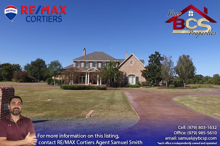 tuscany trace college station large home with curb appeal