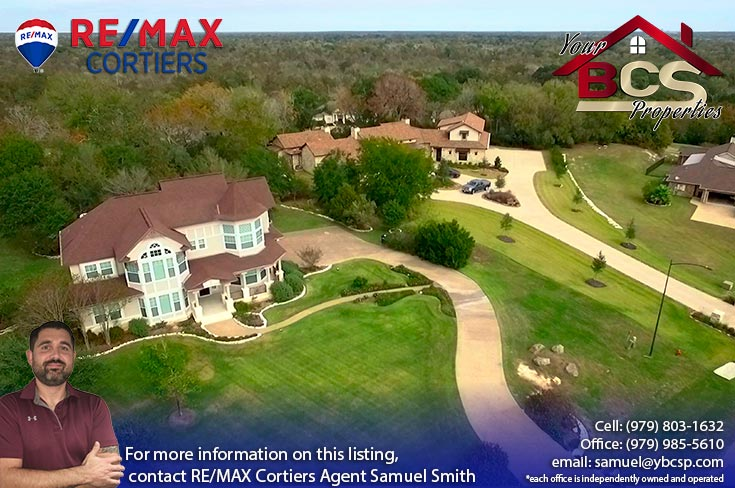 williams creek college station texas aerial view of neighborhood