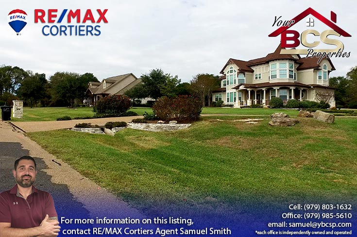 williams creek college station texas elegant home on large lot