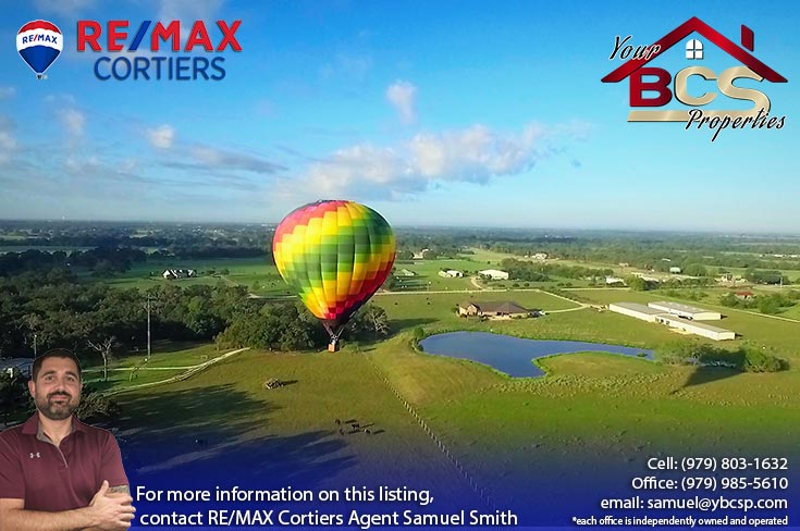 wixon valley texas homes aerial view