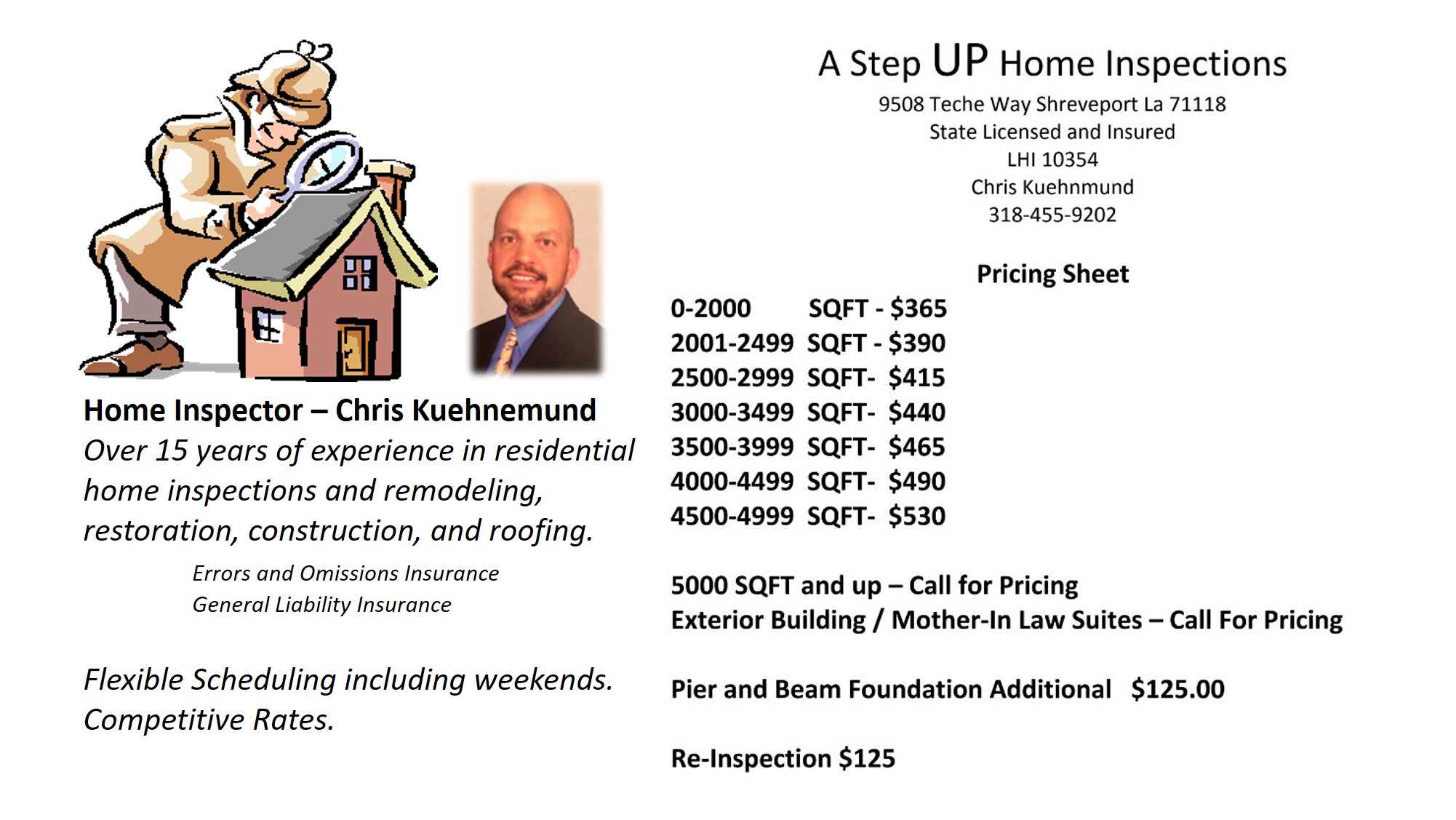 A Step Up Home Inspections