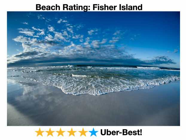 Fisher island Beach Rating