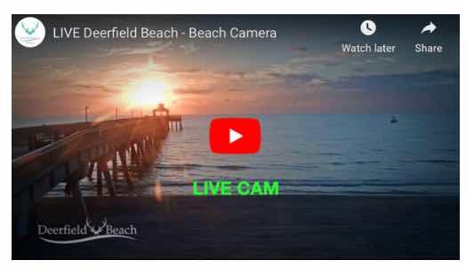 Deerfield Pier Cam