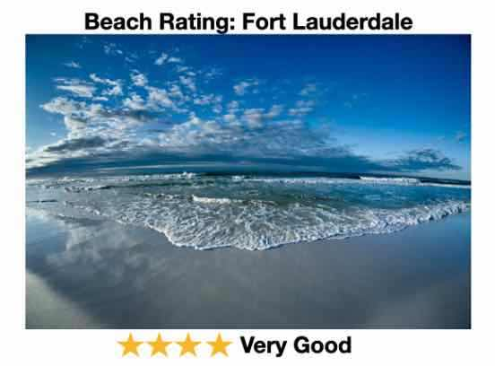 Fort Lauderdale beach Rating