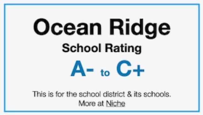 Ocean Ridge School Rating