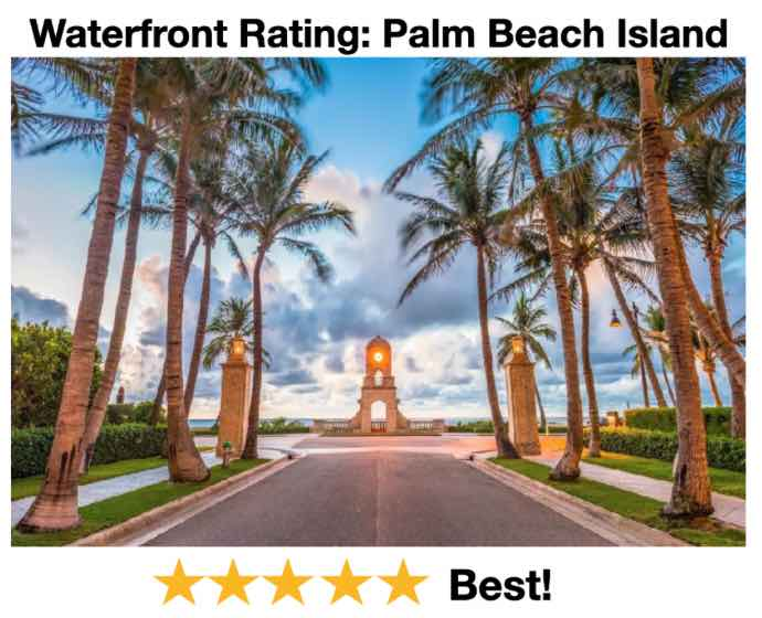 Waterfront Rating Palm Beach 2