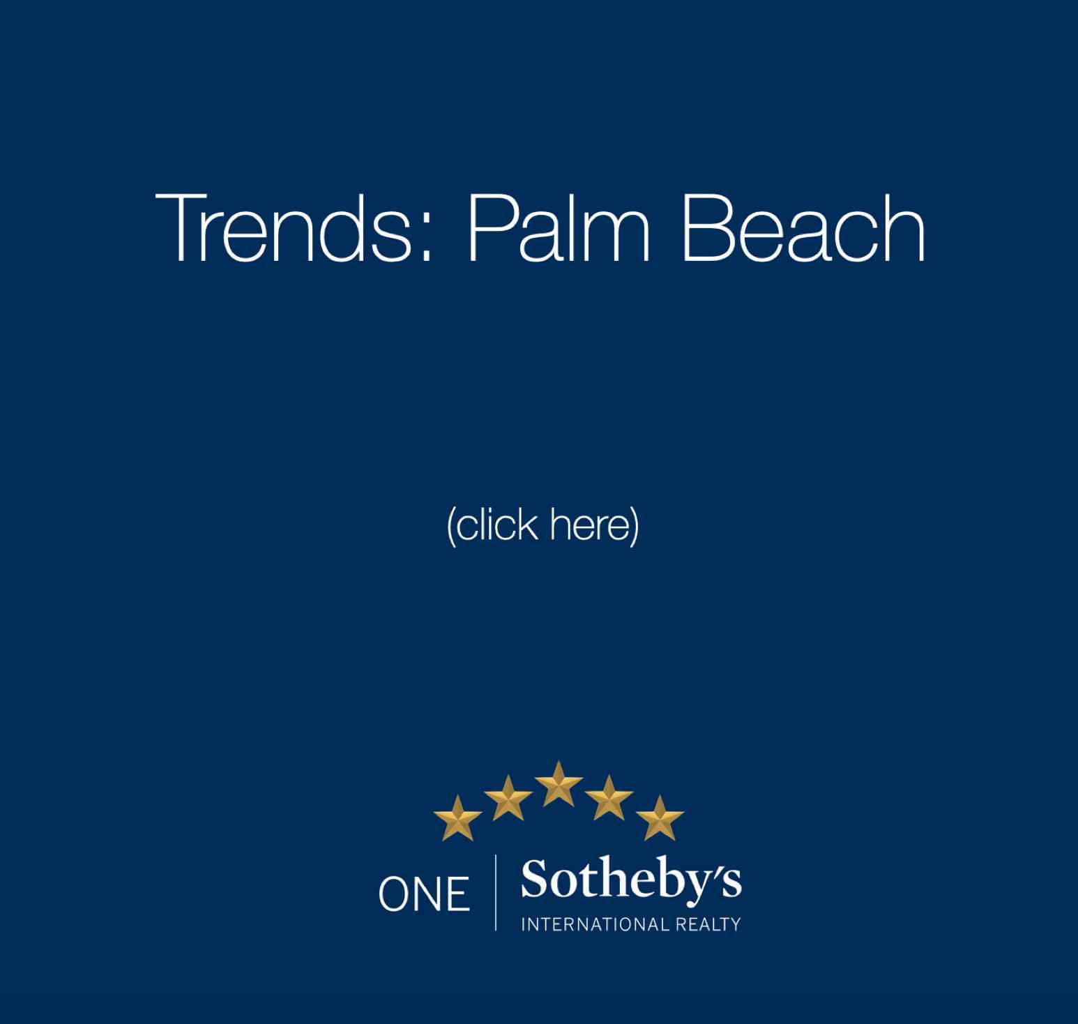 Market Report Palm beach