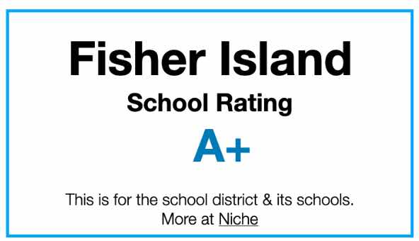 Fisher Island School rating