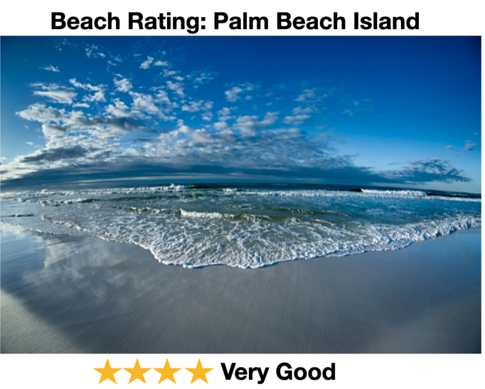 Palm Beach Rating For beaches