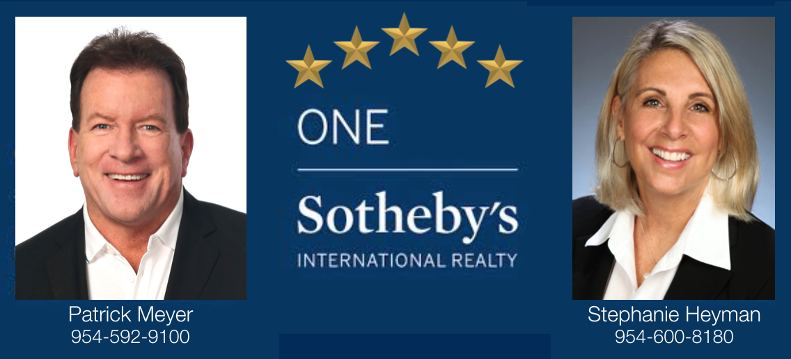 Patrick Meyer & Stephanie Heyman One Sotheby's  Realty