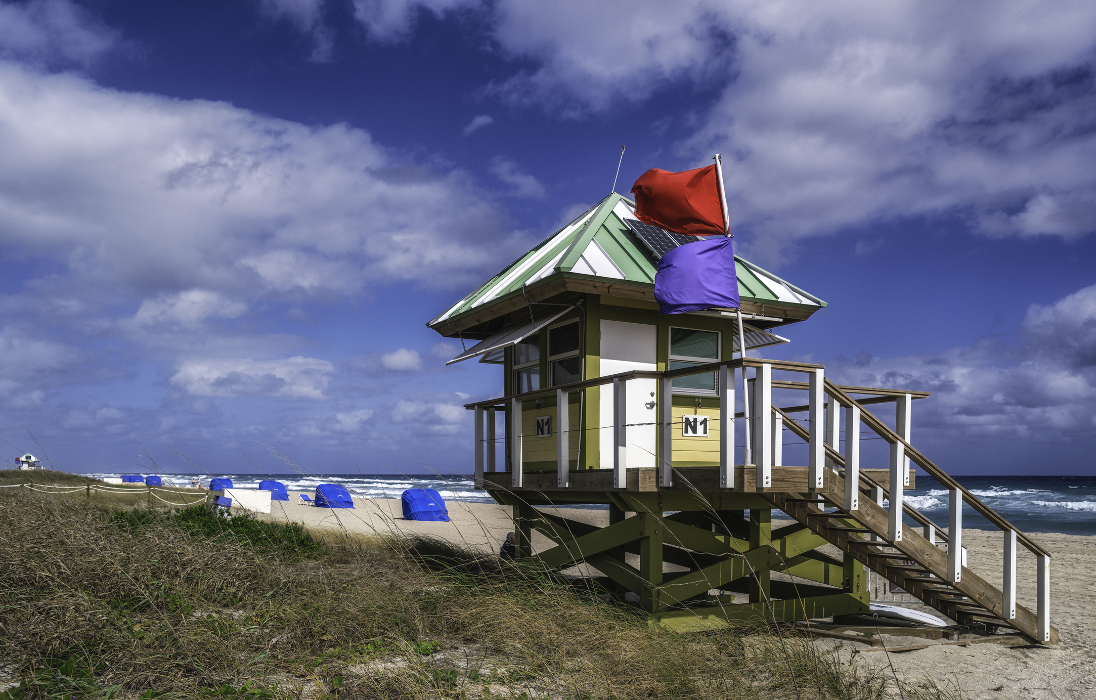 Delray Beach Lifeguard Hut