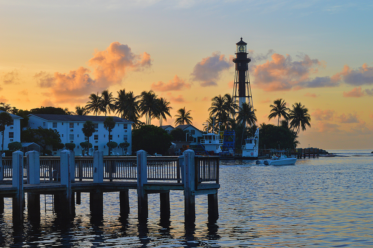 Pompano Beach Sunrise at Hillsboro Inlet