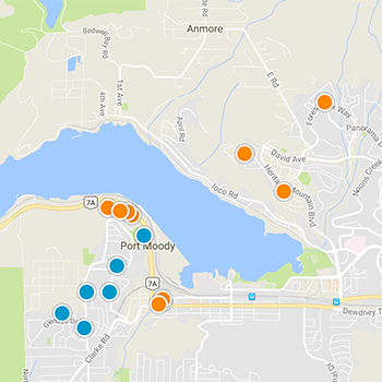 Port Moody Interactive Map