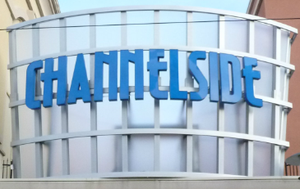 Channelside Bayside Plaza front sign