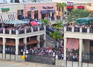 A Crowd at the Channelside Complex