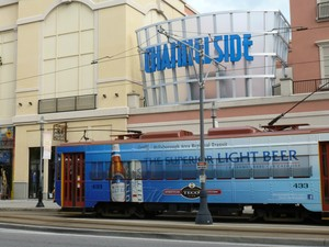 Channelside and trolley