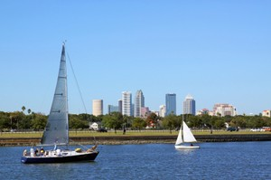 Sailboats on Hillsborough River