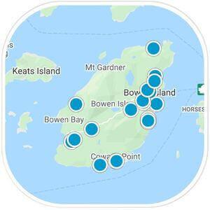 Bowen Island Map Property Search