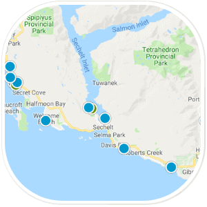 Sunshine Coast Map Search