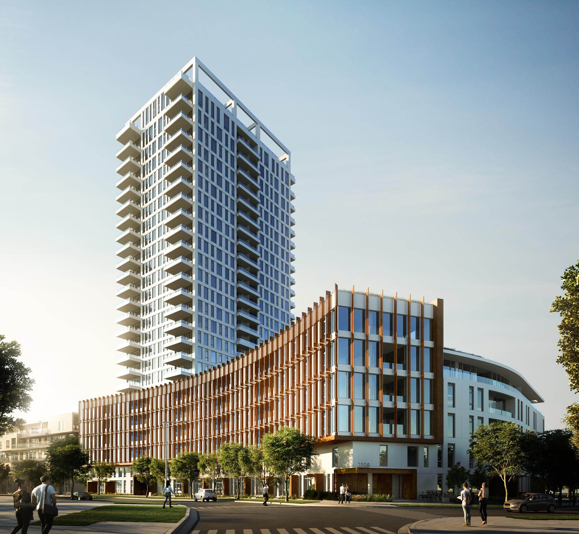 Mode Condo Presales by Wesgroup in River District Vancouver
