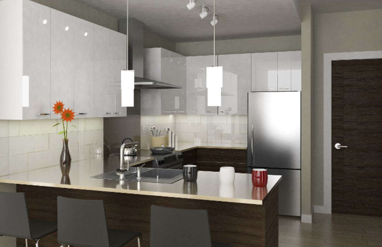 Luxury Kitchen in Tatlow Homes Presale - North Vancouver