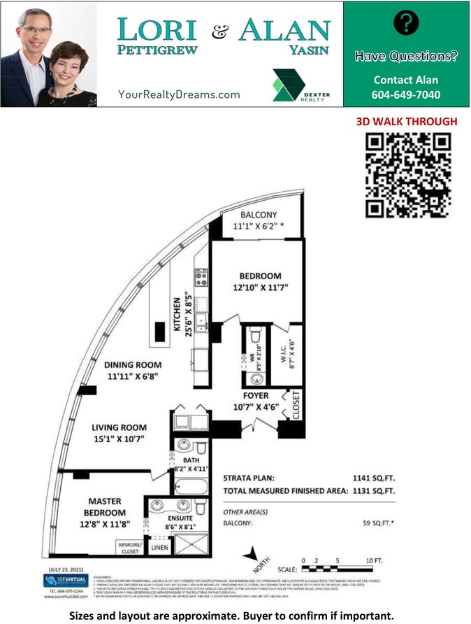 Floorplan - 3638 W Broadway Vancouver in Coral Court