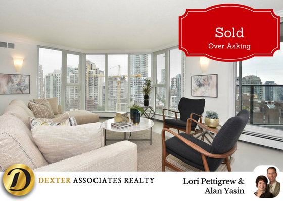 West End Vancouver Condo Sold Over List Price