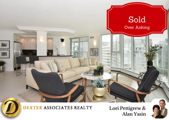 1205-1010-Burnaby Street, Vancouver - Sold for a great price