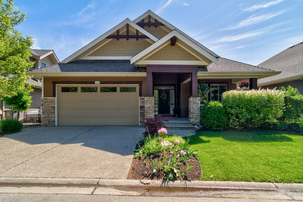 Front of 1195 Long Ridge Drive - Home for Sale in Kelowna, BC
