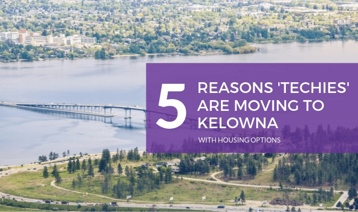 5 Reasons Techies are Moving to Kelowna Title Image