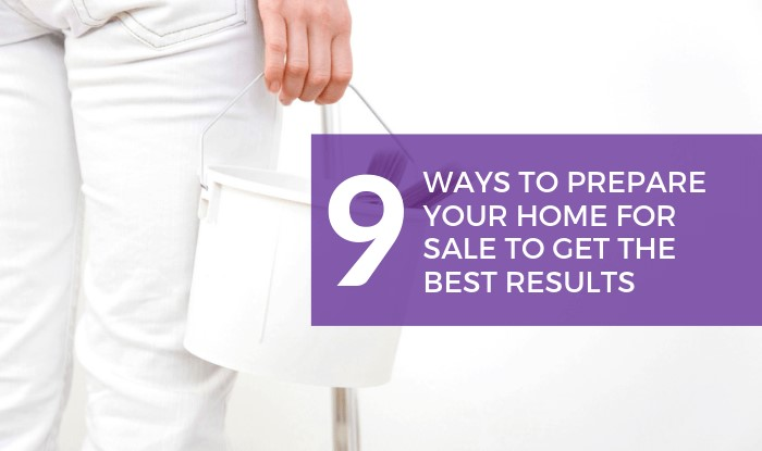 9 Ways to Prepare Your Home for Sale Title Image
