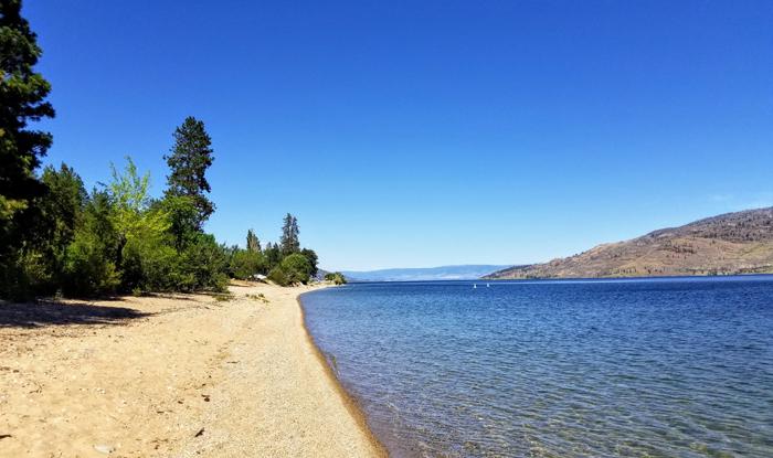 Antler's Beach Regional Park, Peachland, BC